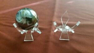 ~10 Round Reversible Display Stand For Shooter Mummy Standard Marbles
