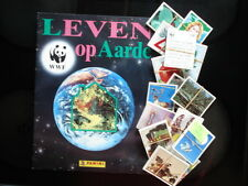 PANINI  EMPTY ALBUM + ALL 360 STICKERS OF WWF LEVEN OP AARDE