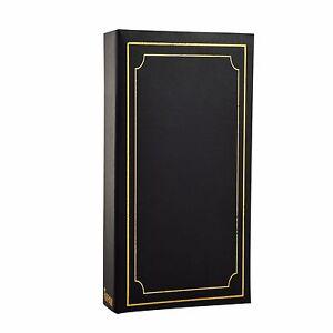 Prix Bas Avec Ia' 6x4' Plain Album Photo Avec 300 Poches-cadeau Idéal-noir Al-9810-afficher Le Titre D'origine