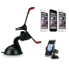 360 DEGREE ROTATING WINDSHIELD UNIVERSAL CAR MOUNT HOLDER FOR IPHONE CELL PHONE
