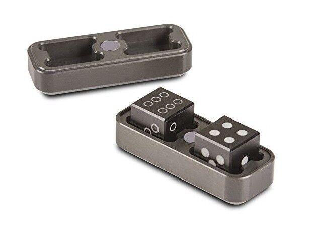 Ultra Pro Gravity Dice coffret set 2 dés D6 en en en aluminium très haut de gamme 4875 38d93d