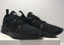 1e5e3e9f26b211 Puma Mens Size 12 Tsugi Blaze Evoknit Athletic Running Black Dark Shadow  Shoes