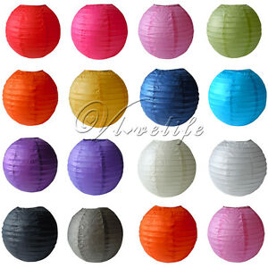 Round-Paper-Lantern-Lamp-Wedding-Birthday-Xmas-Party-Decorations-8-034-10-034-12-034-14-034