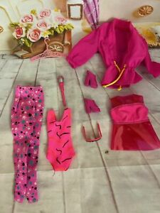 Mint Vintage Barbie Doll Clothes Lot And Accessories Ebay