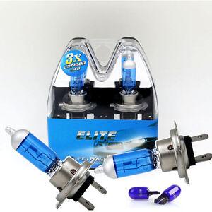 H7-55w-SUPER-WHITE-XENON-499-Head-Light-Bulbs-12v-T10-w5w-sidelights-ELITE-C
