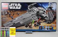 Lego Star Wars - 7961 Darth Maul's Sith Infiltrator Nisb Padme Quigon Minifigure