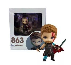 Nendoroid-863-Marvel-Avengers-Thor-Odinson-10cm-Action-Figures-Ragnarok-Kid-Gift