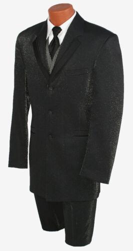 entertainer met smoking VestTie herenmousserende special bijpassende broek Zwarte qpUzMSGV