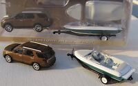 Greenlight Hitch & Tow Series 4 2013 Ford Explorer & Boat W/trailer Note: Tires