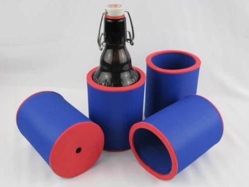 4x 0,33 l Bouteilles Refroidisseur bierkühler Boissons Refroidisseur Refroidisseur En Néoprène Top Qualité