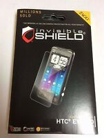 2x Zagg Invisibleshield S Screen Cover Film Protector For Htc Evo 3d