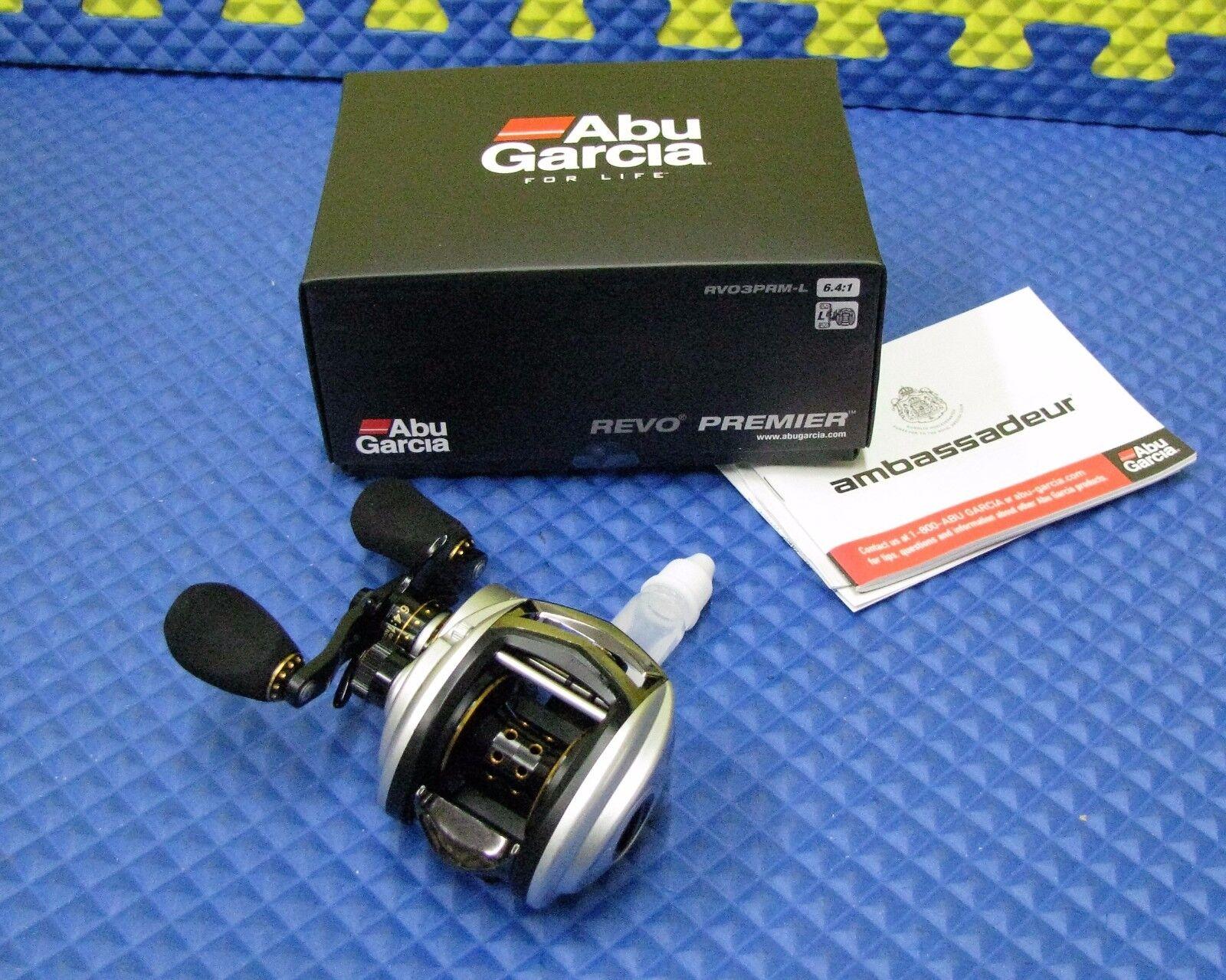 Abu Garcia REVO PREMIERE Left  Hand Lo Profile Baitcasting Reel RVO3PRM-L 1264554  inexpensive