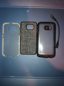 Lot-Of-3pc-Lifeproof-Case-Adopted-Case-Tech21-Clear-Case-for-Samsung-Galaxy-S6