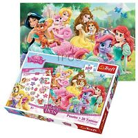 Trefl 100 Piece Puzzle +20 Tattoo Girls Disney Princesses & Friends Ariel Jigsaw