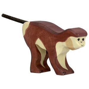 Holztiger-80167-Scimmia-8-CM-Figure-IN-Legno-Serie-Animale-Selvaggio