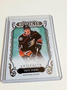 2018-19-Artifacts-Troy-Terry-Rookie-999-Rc-180-Anaheim-Ducks-L-K