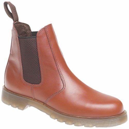 10573-030 Grafters Dealer Chelsea Boots - tan M573BT