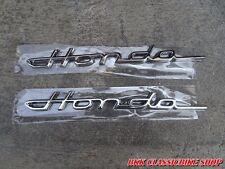 Chrome Emblem Frame Honda CF50 CF70 ST50 ST70 CT70 DAX CHALY // 2 pcs