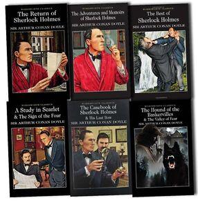 Sherlock-Holmes-Collection-Sir-Arthur-Conan-Doyle-6-Books-Set-Pack-Brand-New