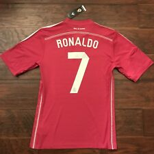 adidas Mens Real Madrid Replica Away Player Soccer Jersey Blast Pink ... 731137ad8