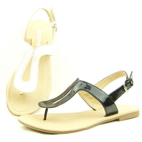 Flat Slingback Thong Sandals, Women&#039;s Shoes 5.5-10US/36-41<wbr/>EU/3.5-8AU