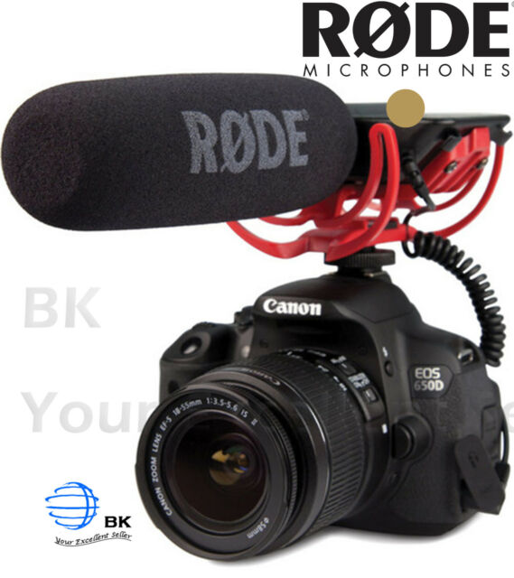 RODE VideoMic Shotgun Microphone for DSLR with 3.5mm Jack