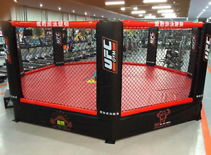 27 X27 Commercial Boxing Ring Mma Cage Ufc Octagon Pro