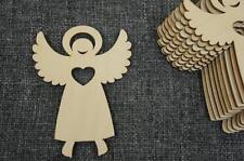 10x Engel Taufe Schutzengel Herz Hochzeit Komunion Deko Basteln Decoupage