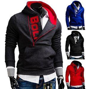 BOLF-Herren-Kapuzenpullover-Sweatjacke-Sweatshirt-Langarmshirt-Hoodie-1A1-Motiv