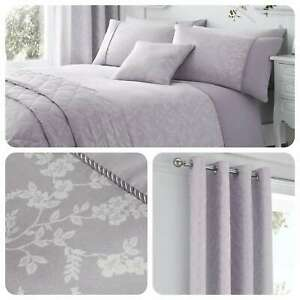 Serene-EBONY-Mauve-Purple-Floral-Jacquard-Traditional-Bedding-amp-Accessories