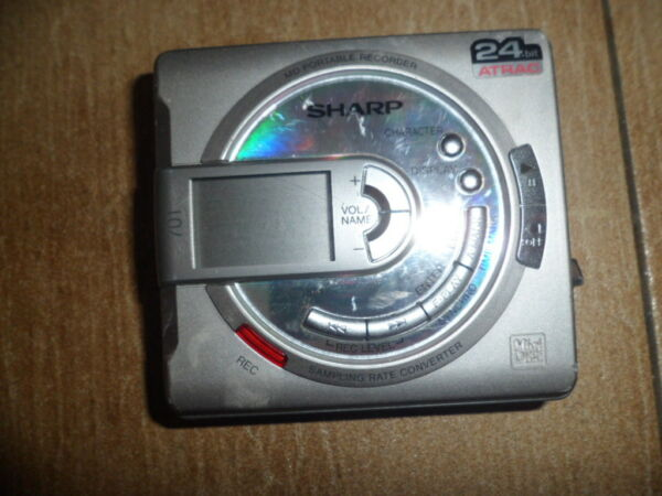 Ambitieus Walkman Minidisc Sharp Md 701 Defekt