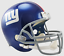 thumbnail 3 - NEW YORK GIANTS NFL Riddell FULL SIZE Deluxe Replica Football Helmet