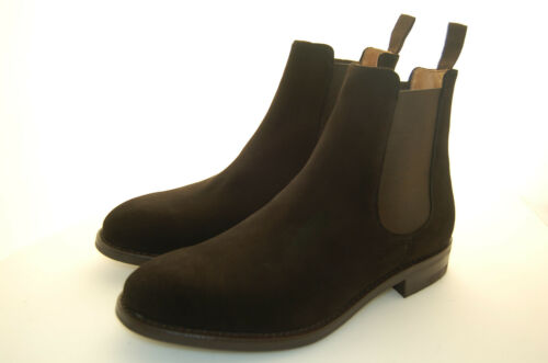 Dainite Chocolate Man 6eu Lthr Camoscio Boot 40 Sole Chelsea Suede wqpx4qznUX