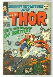 journey into mystery 117 into the blaze of battle thor marvel