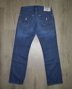 Vintage-True-Religion-Straight-Made-In-USA-Jeans-Denim-W33
