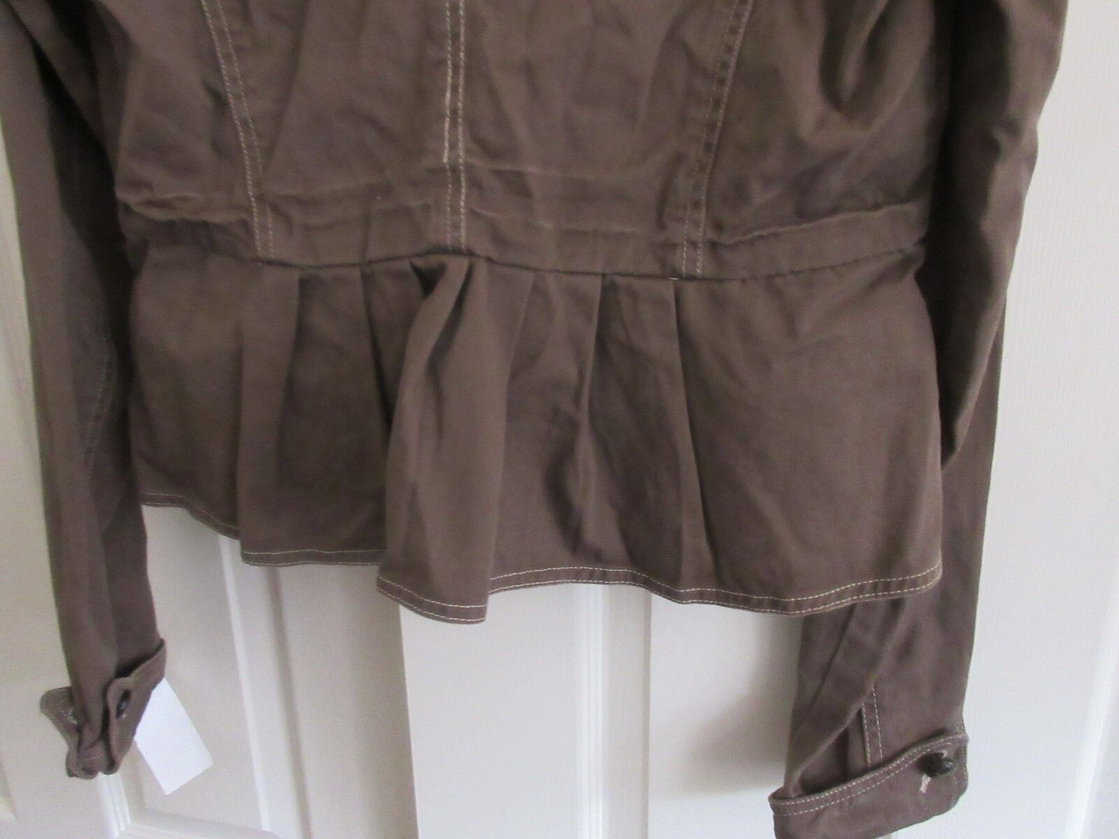 Nori , Ladies Jacket ,Button Front , 100% Cotton, Lined