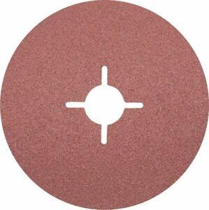 FIBRE DISC (Box of 25) 125mm (5 inch) 60 Grit Aluminium Oxide Sanding Discs Pfer