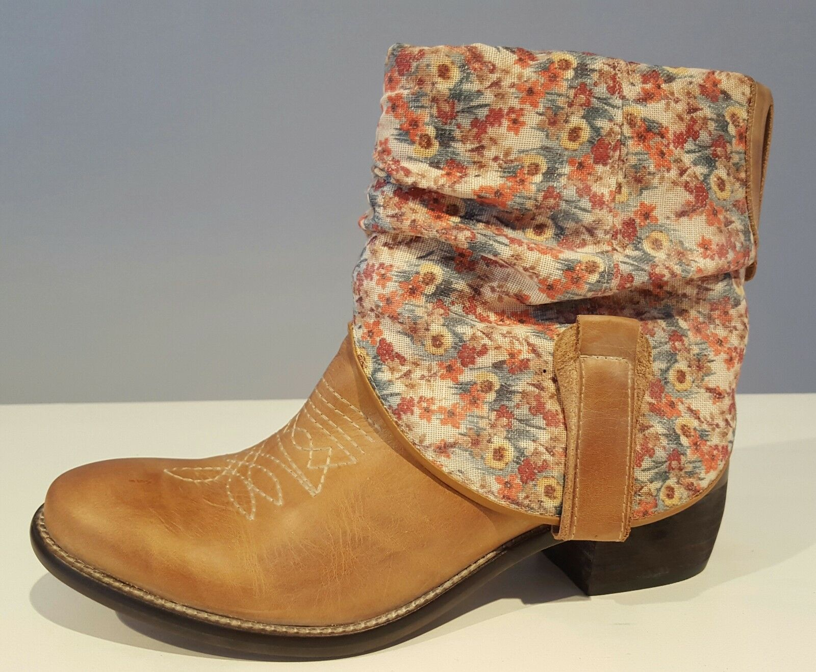 Stiefelette    Leder Western Stiefel   Leder    Veracruz FLUXA/Spanien  braun Gr. 36-41 0d19bb