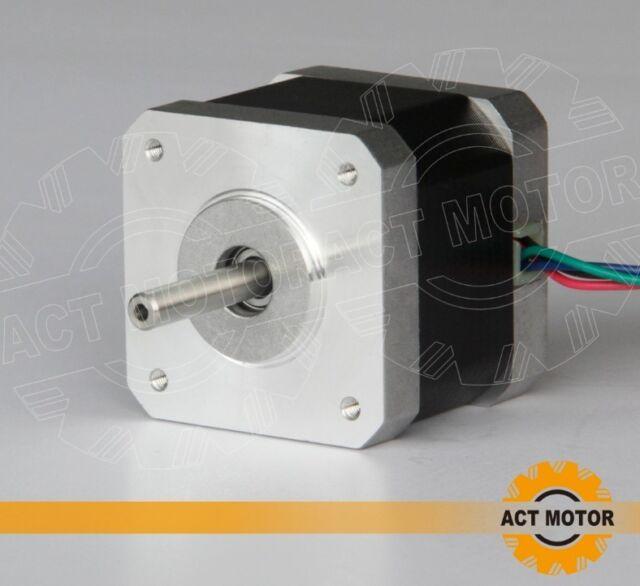 free SHIP 60PCS Nema17 Stepper Motor 17HS4417 1.7A,40mm for 3D printer,Reprap CE