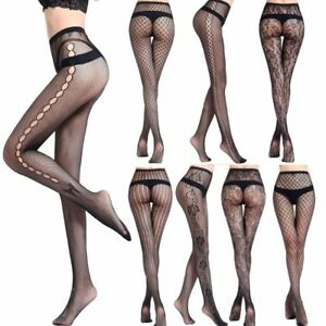 Sexy-Ladies-Lace-Top-Thigh-Highs-Stocking-with-Garter-Belt-Pantyhose-Multi-Style
