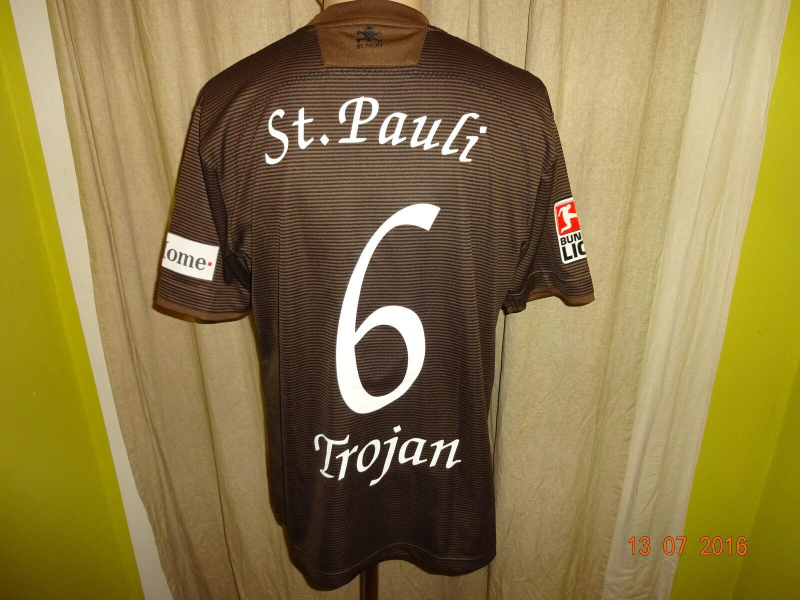 FC St.Pauli DoYou Fotball Matchworn Trikot 2008/09