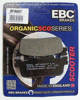 Honda FES125 S-Wing EBC Organic FRONT and Rear Disc Brake Pads 2007 to 2015
