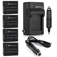 Dmw-bcm13e Battery & Charger For Panasonic Lumix Dmc-zs30 Zs27 Dmc-tz41 Tz40 Ts5