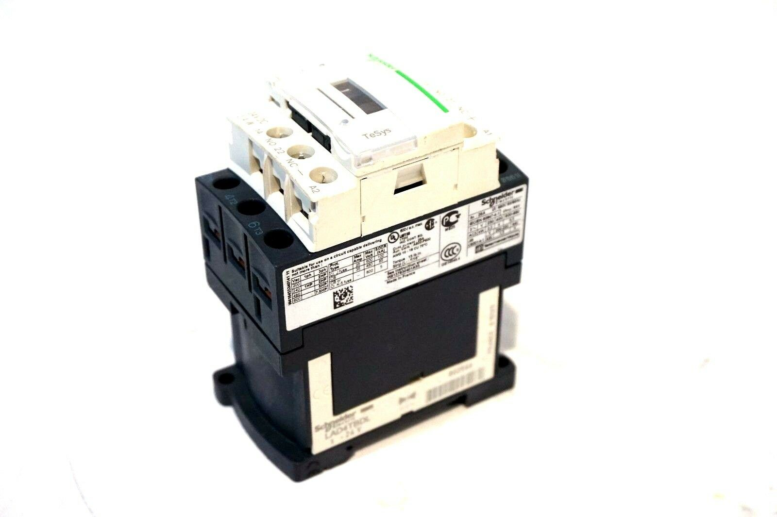 NEW SCHNEIDER ELECTRIC LC1-D09BL CONTACTOR LC1D09BL