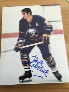 Buffalo Sabres Mike Robitaille signed 8x10 W/COA