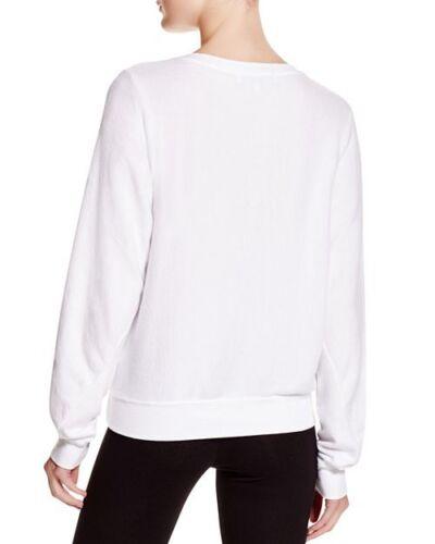 XS L M Wildfox Women/'s Baggy Sweatshirts Szs: XXS Color: Clean White S
