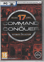 Command And Conquer The Ultimate Collection Pc 17 Games Brand Factory Sealed