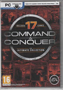 Command-and-Conquer-The-Ultimate-Collection-PC-17-Games-Brand-New-Factory-Sealed
