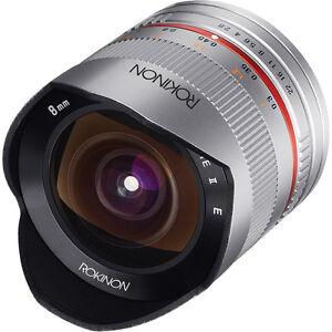 Rokinon-8mm-F2-8-UMC-Fisheye-II-Silver-Lens-for-Sony-E-Mount-NEX-Cameras