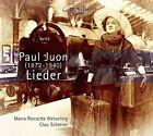 Paul Juon: Lieder (CD, Sep-2016, Coviello Classics)